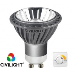 Лампа CIVILIGHT DGU10 WP01T7 dimmable