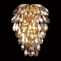 Бра Crystal lux CHARME AP2+2 LED ORO/CRYSTAL