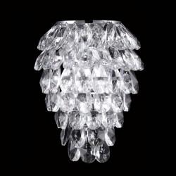 Бра Crystal lux CHARME AP2+2 LED CROMO/CRYSTAL