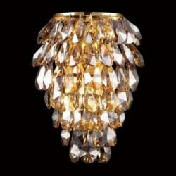 Бра Crystal lux CHARME AP2+2 LED ORO/AMB