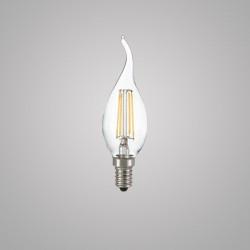 Лампа Ideal lux 101248 Classic E14 Colpo Di Vento Trasp