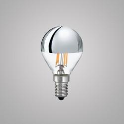 Лампа Ideal lux 101262 Classic E14 Sfera Cromo